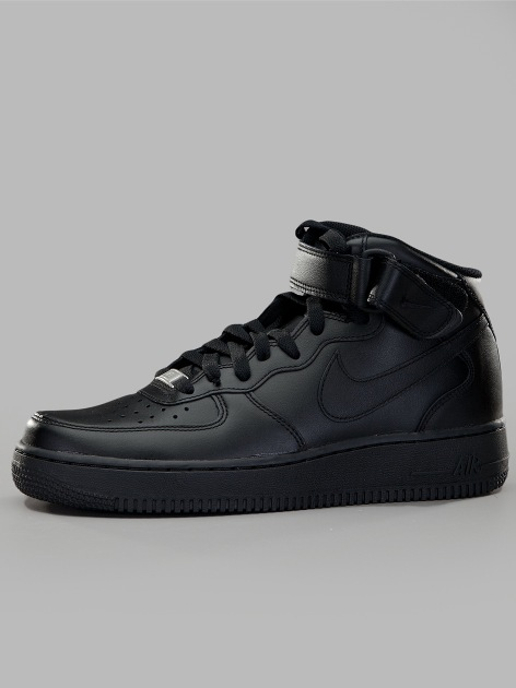 Air Force 1 Mid '07 Black Black Black