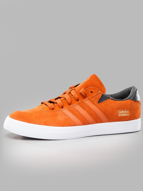adidas Gonz Pro Fox Red Fox Orange Dark Solid Grey