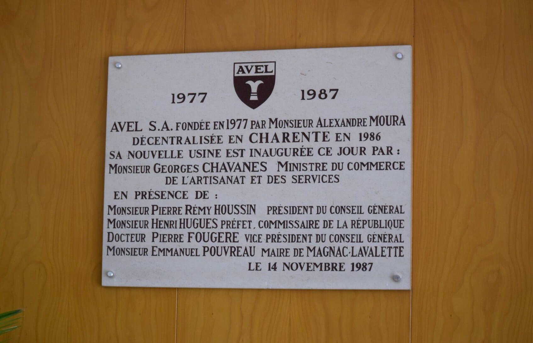 PAMIĄTKOWA TABLICA ZAŁOŻYCIELSKA Z 1987 R.