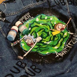 Rick and Morty Custom