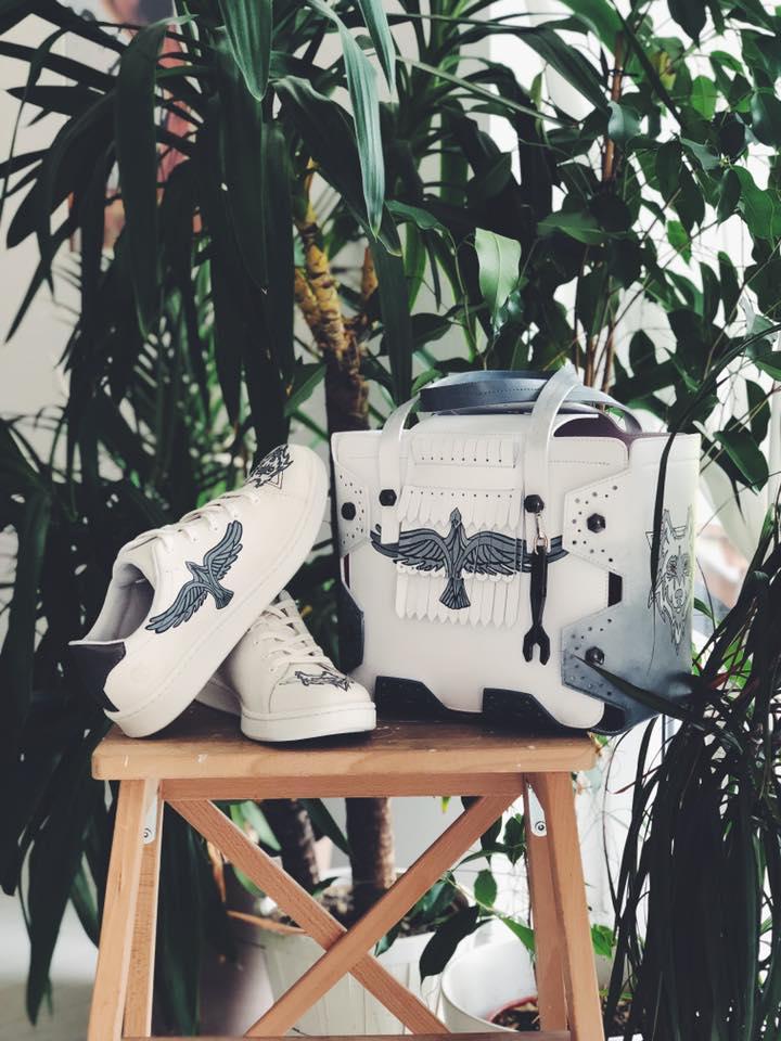 Hymy Custom Bag and Shoes