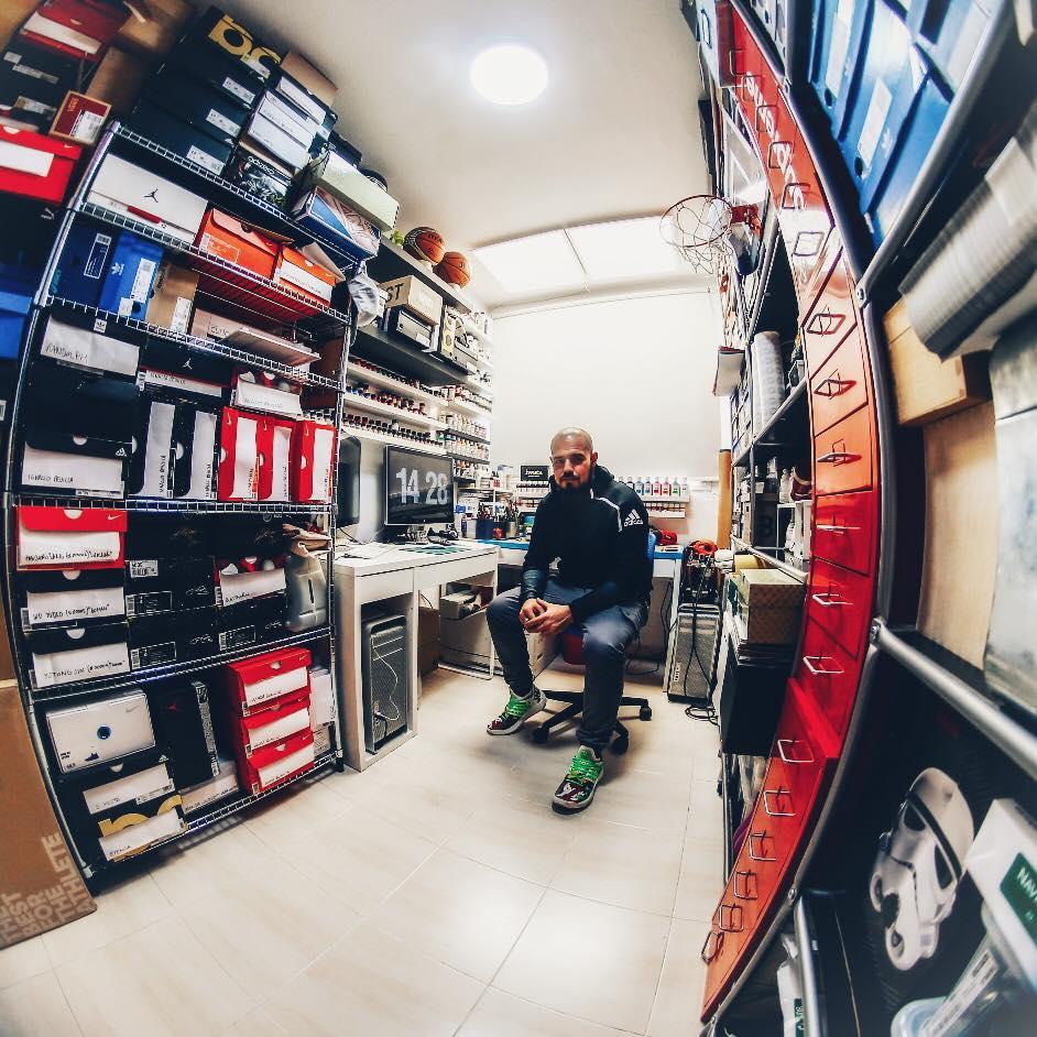 Malowanie sneakersów