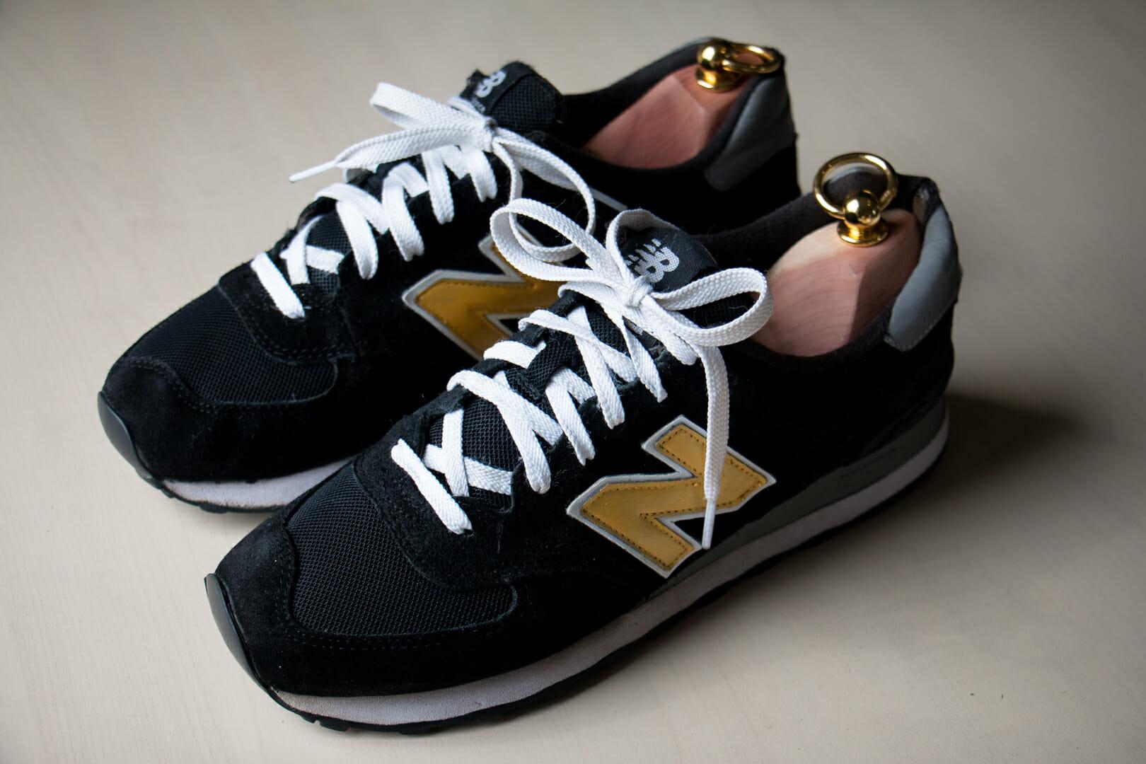 Buty NB po renowacji
