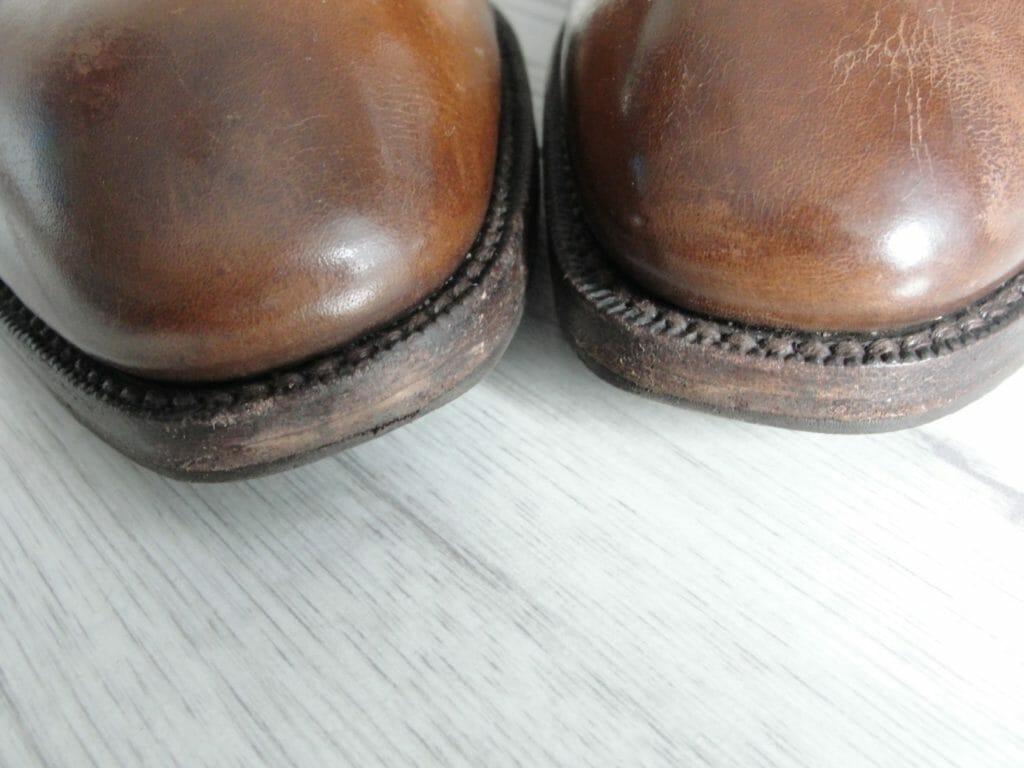 renowacja krawędzi i obcasów butów