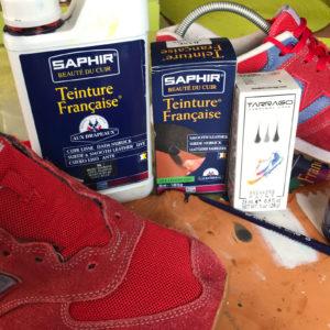 Czyszczenie i renowacja butów