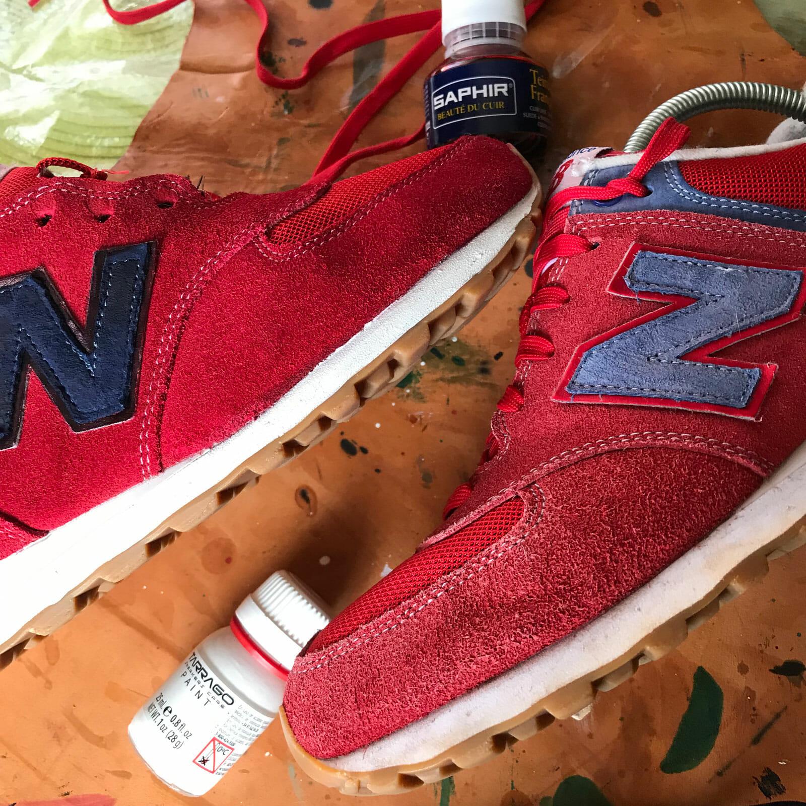 Renowacja butów sportowych