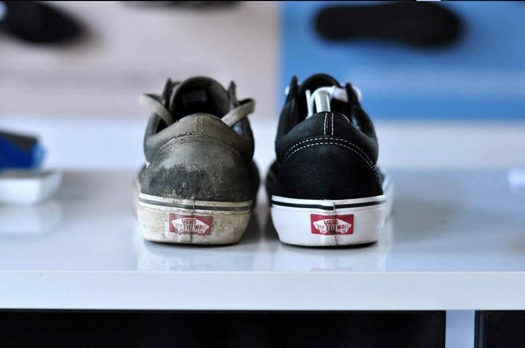 Czyszczenie sneakersów