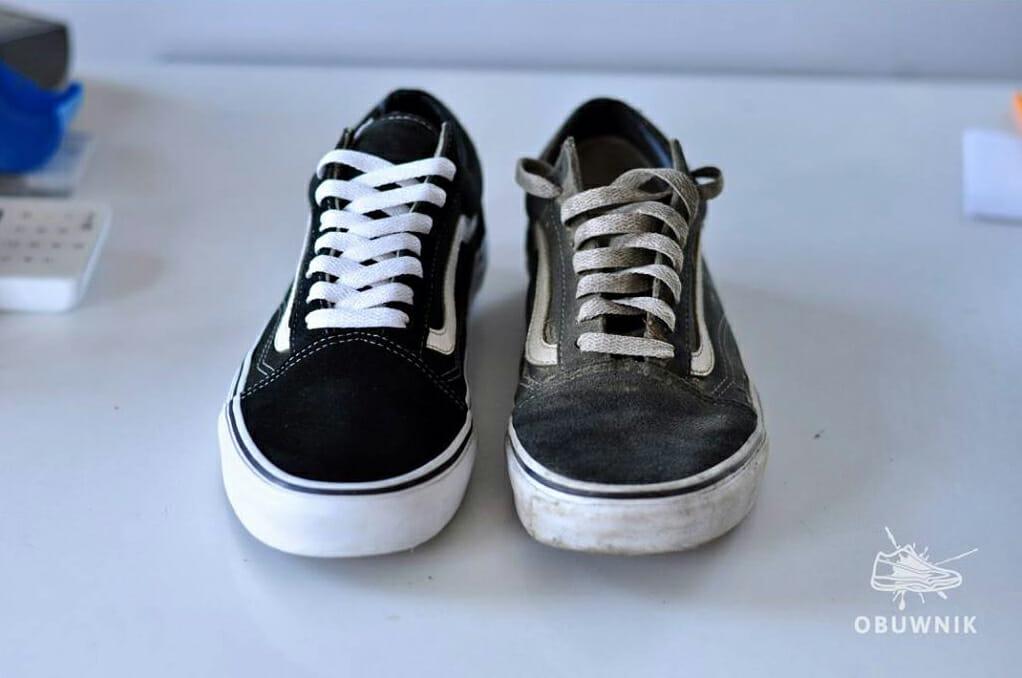 Renowacja butów