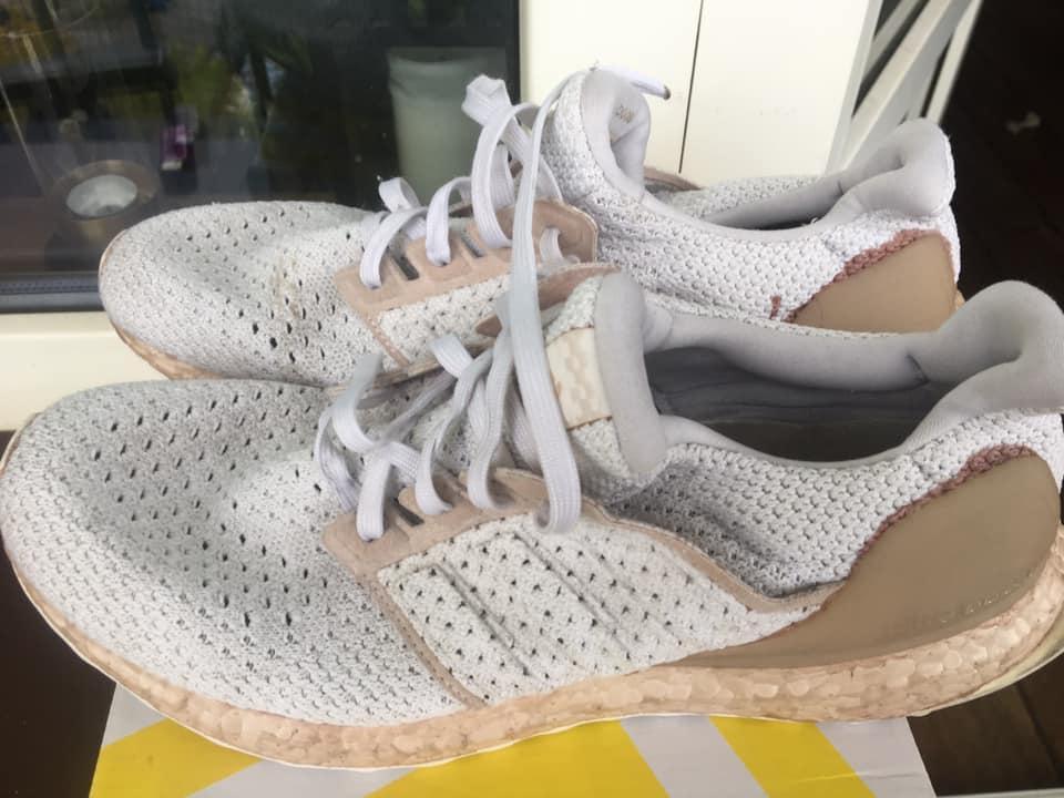 Pranie butów - efekty