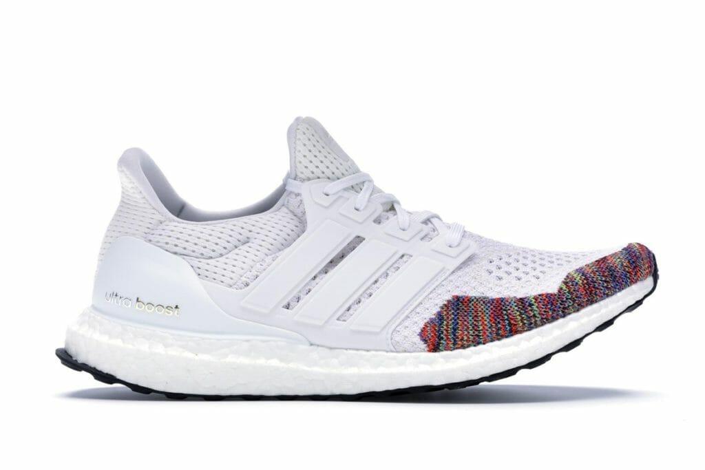 adidas Ultra Boost 1.0 Multi-Color Toe White