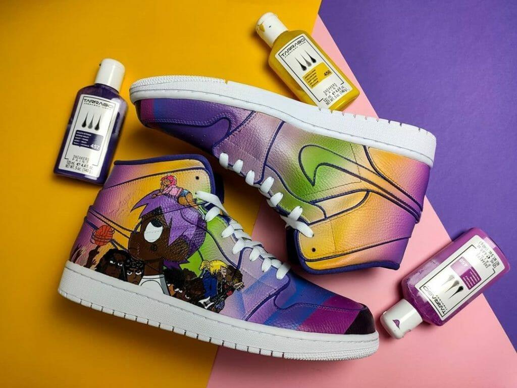 Malowanie butów według Doostomz