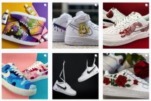 customizacja butów i jeansu