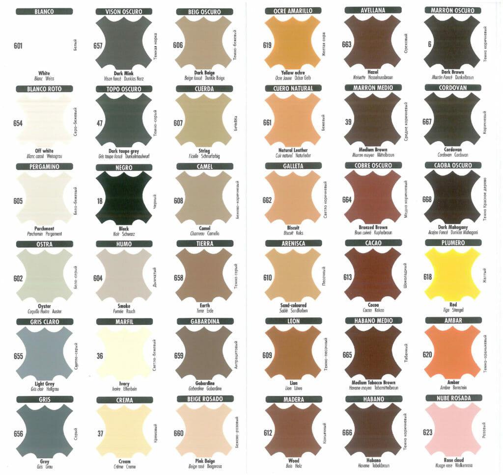 Akrylowe farby do renowacji i skór