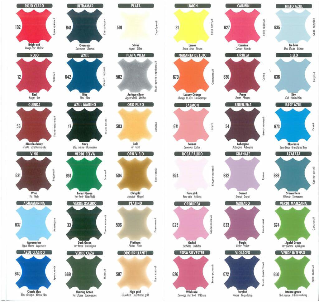 Farby do skór
