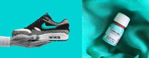 Nike custom - zielona farba teal