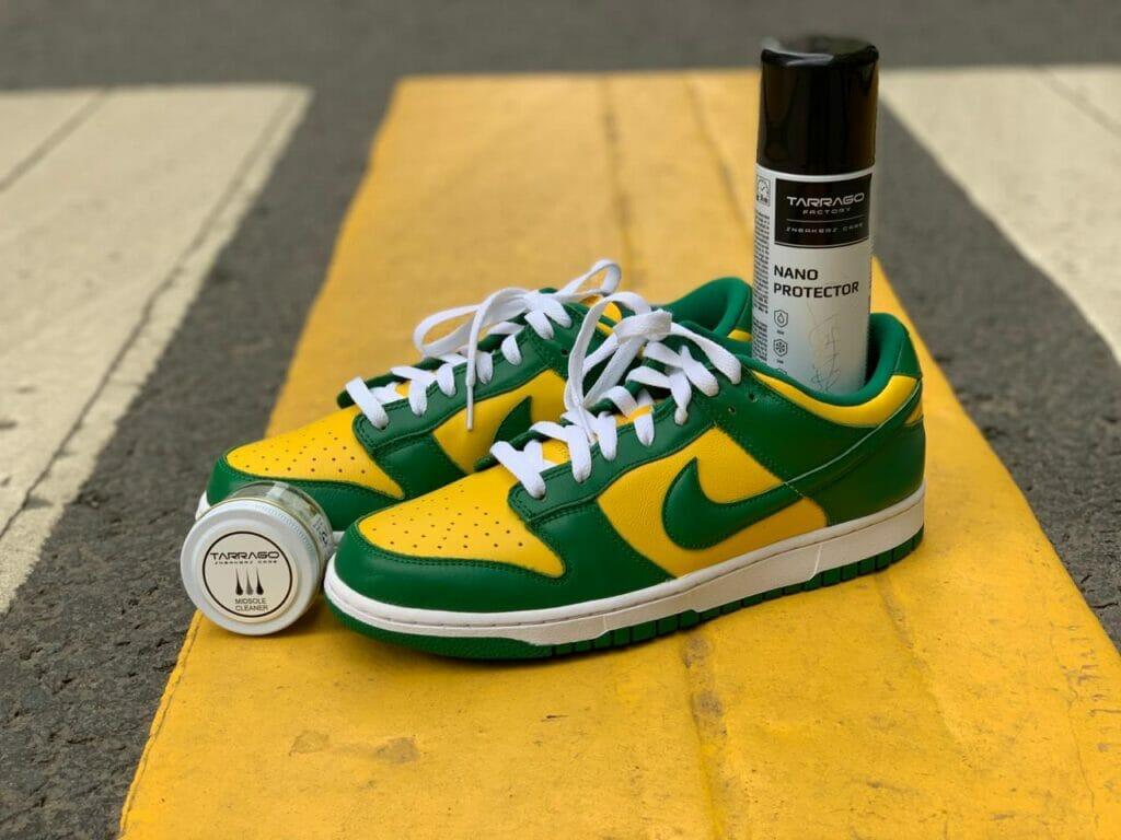 Środek do czyszczenia midsoli w sneakersach i nano protector do ochrony butów