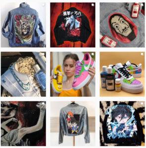 Kontakty do customizerów, diy, rękodzieło, personalizacja butów, jeansu