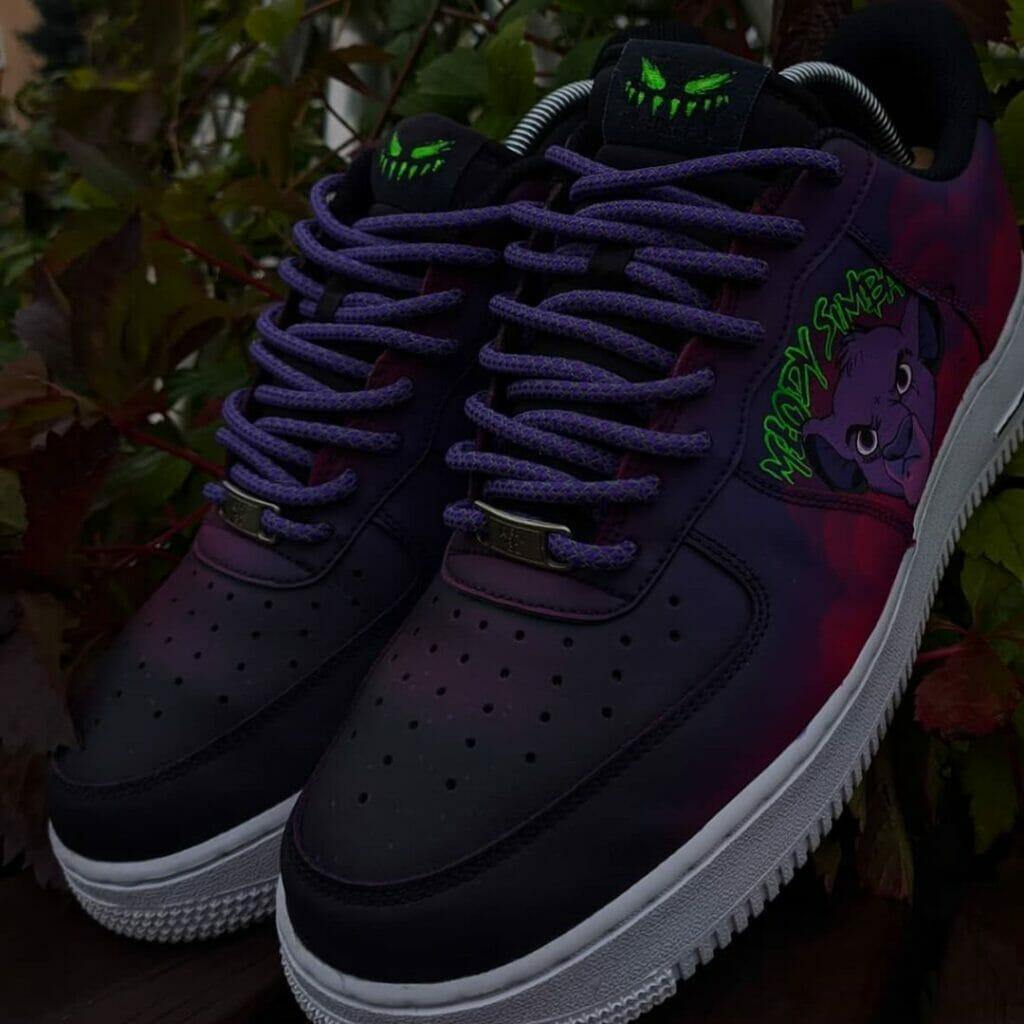Farby do customizacji butów i jeansu. Personalizacja Nike AF1 Szpaku
