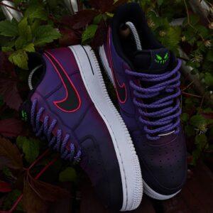 Nike custom szpaki młody simba, farby do butów tarrago