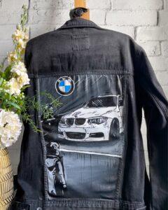 Custom katany jeansowej bmw