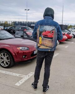 Farby akrylowe do jeansowej katany