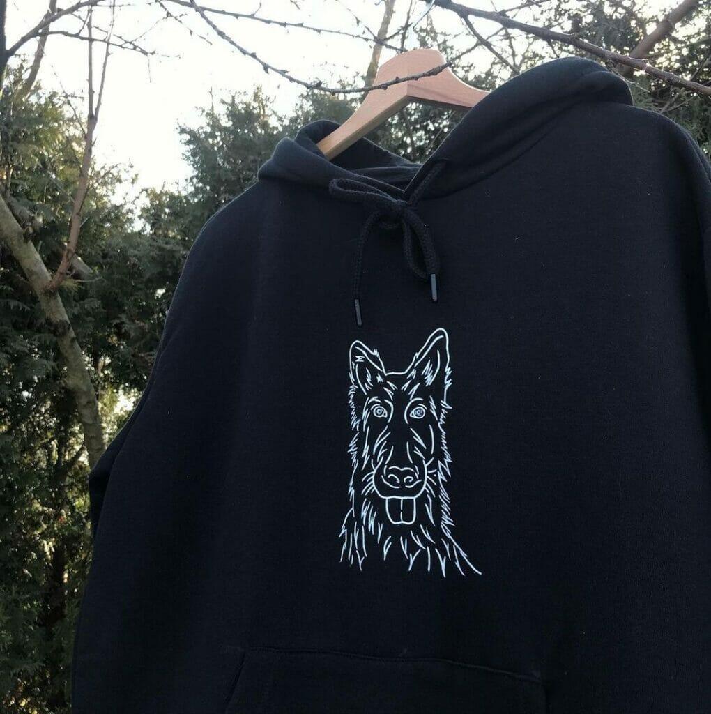 hoodie custom bluzy - ręcznie malowana