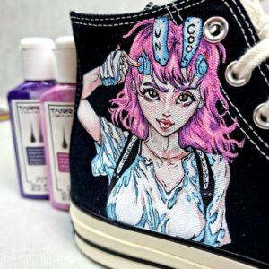 Farby akrylowe do malowania tkanin, sneakersów, jeansu