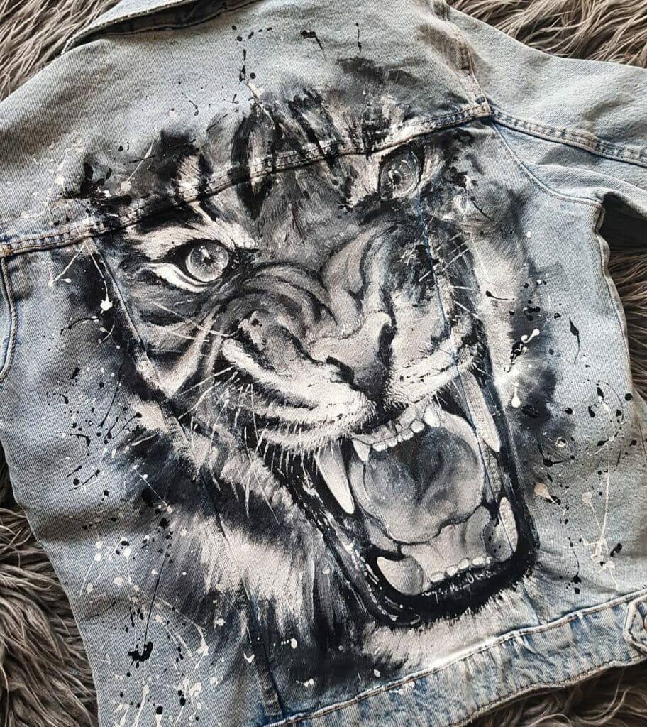 Lion Custom Denim - farby do jeansu