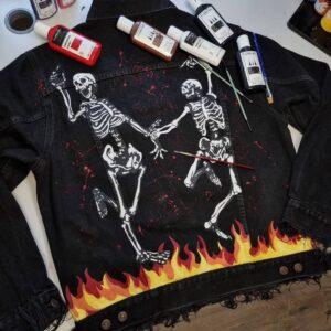 Farby do customu jeansu, ubrań