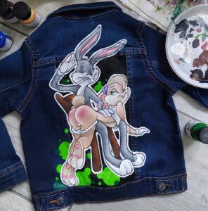 Czym malować jeans