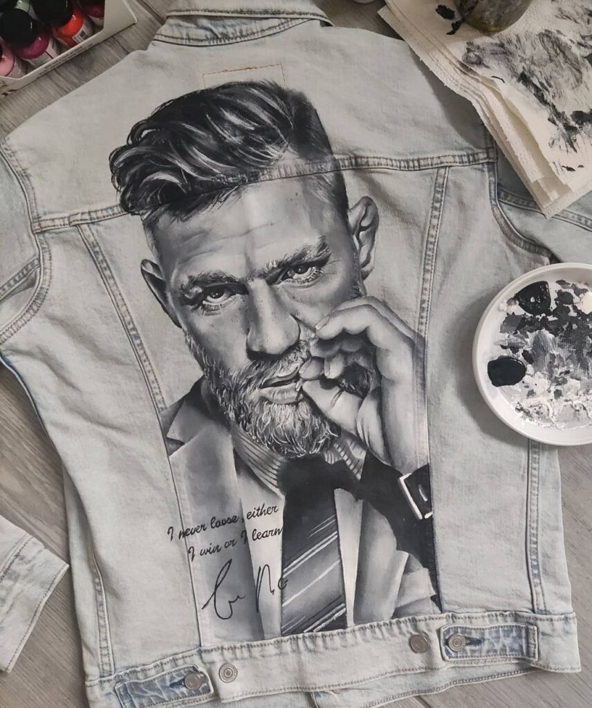 Custom Jeans, farby do tkanin