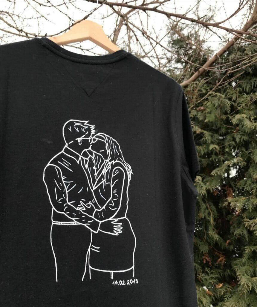 T-shirt custom - malowanie ubrań