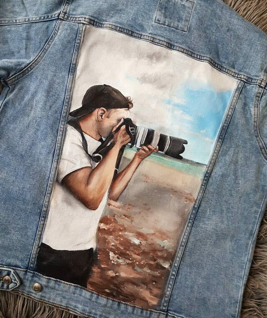 Foto Custom Jeans - prezent dla fotografa