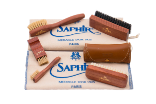 SAPHIR MDOR Set Brushes Luxe