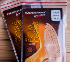 TARRAGO Insoles Leather Half Active Pecari