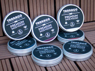 TARRAGO Premium Shoe Polish 50ml
